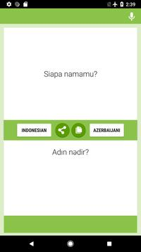 Indonesian-Azerbaijani Translator screenshot 3