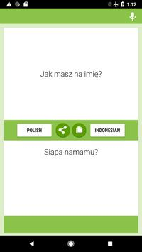 Polish-Indonesian Translator screenshot 3