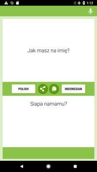 Polish-Indonesian Translator poster