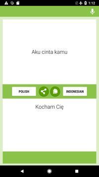 Polish-Indonesian Translator screenshot 1