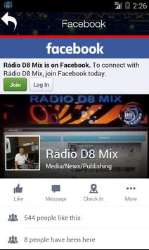 Rádio D8 Mix screenshot 1