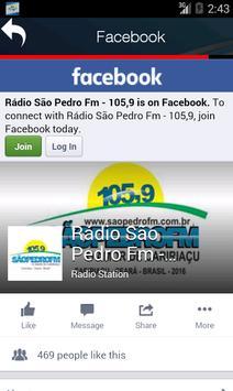 Rádio São Pedro Fm screenshot 1