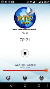 Web Rádio RTC poster