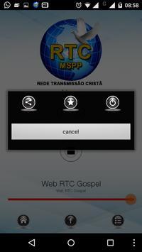 Web Rádio RTC screenshot 1