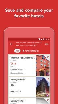 Hotels.com  Hotelreserveringen APK-screenhot
