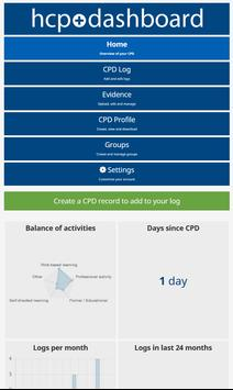 HCPC CPD solution poster