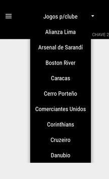Sulamericana 2017 apk screenshot