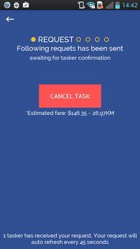 HiCom On Demand Task Booking screenshot 2