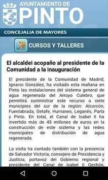 Pinto Concejalía de mayores apk screenshot