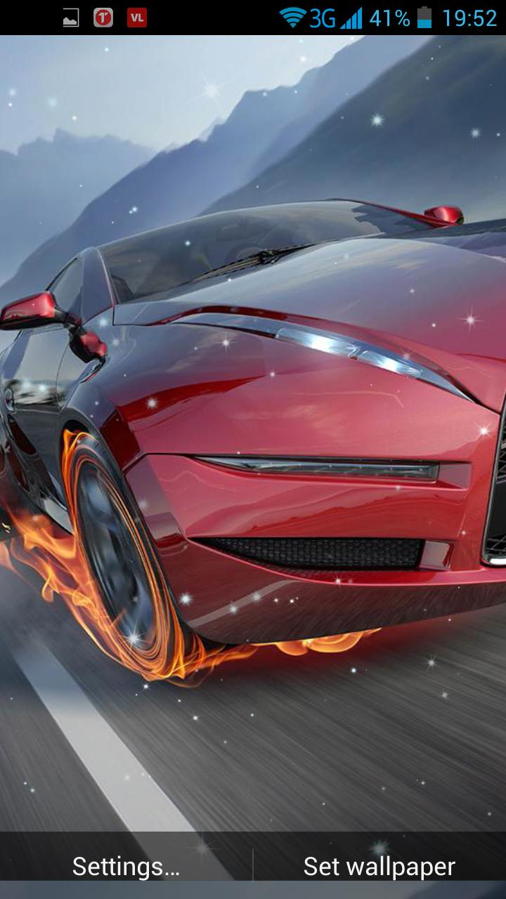 Cars On Fire Live Wallpaper For Android Apk Download