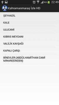 Kahramanmaraş Live HD poster