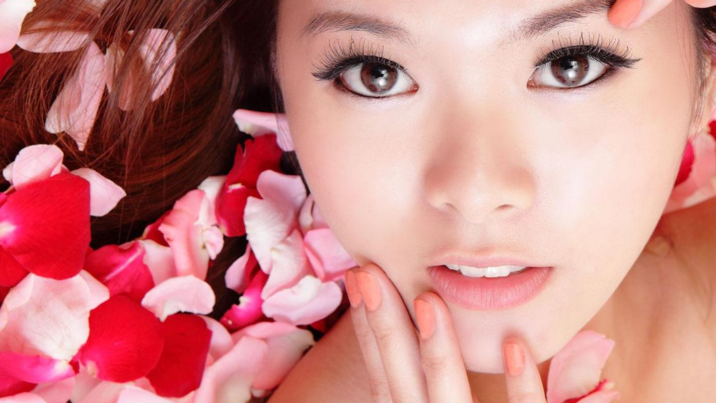 Beauty Asian Girl Wallpaper Hd For Android - Apk Download-7636