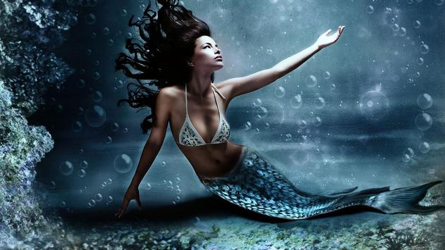 Mermaid Girl Wallpaper HD apk screenshot