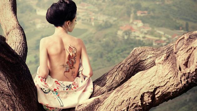 Tattoo Girl Wallpaper HD apk screenshot