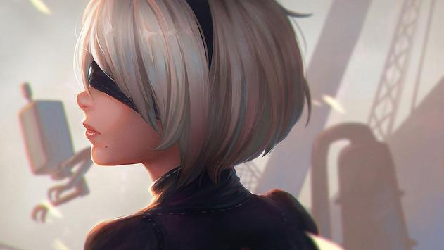 Anime Girl Wallpaper HD apk screenshot