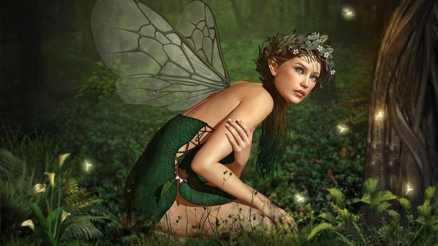 Fairy Girl Wallpaper HD apk screenshot
