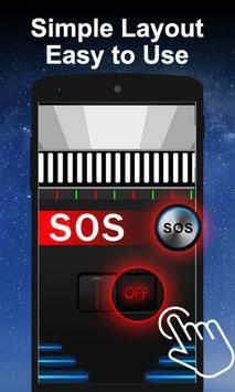 HD Flashlight & Bright Torch App apk screenshot