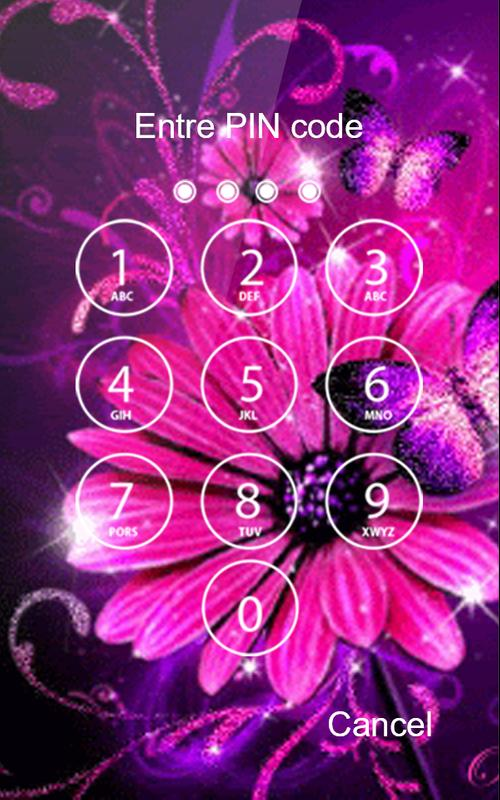 Pink Diamond Wallpaper Butterfly Lockscreen Hd For Android Apk