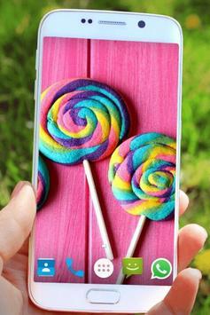Lollipop Wallpaper poster