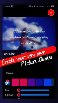 Picture Quotes - Photo Message apk screenshot