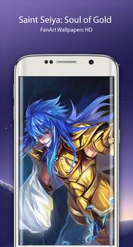 Saint FanArt Seiya Soul of the Gold Wallpapers apk screenshot