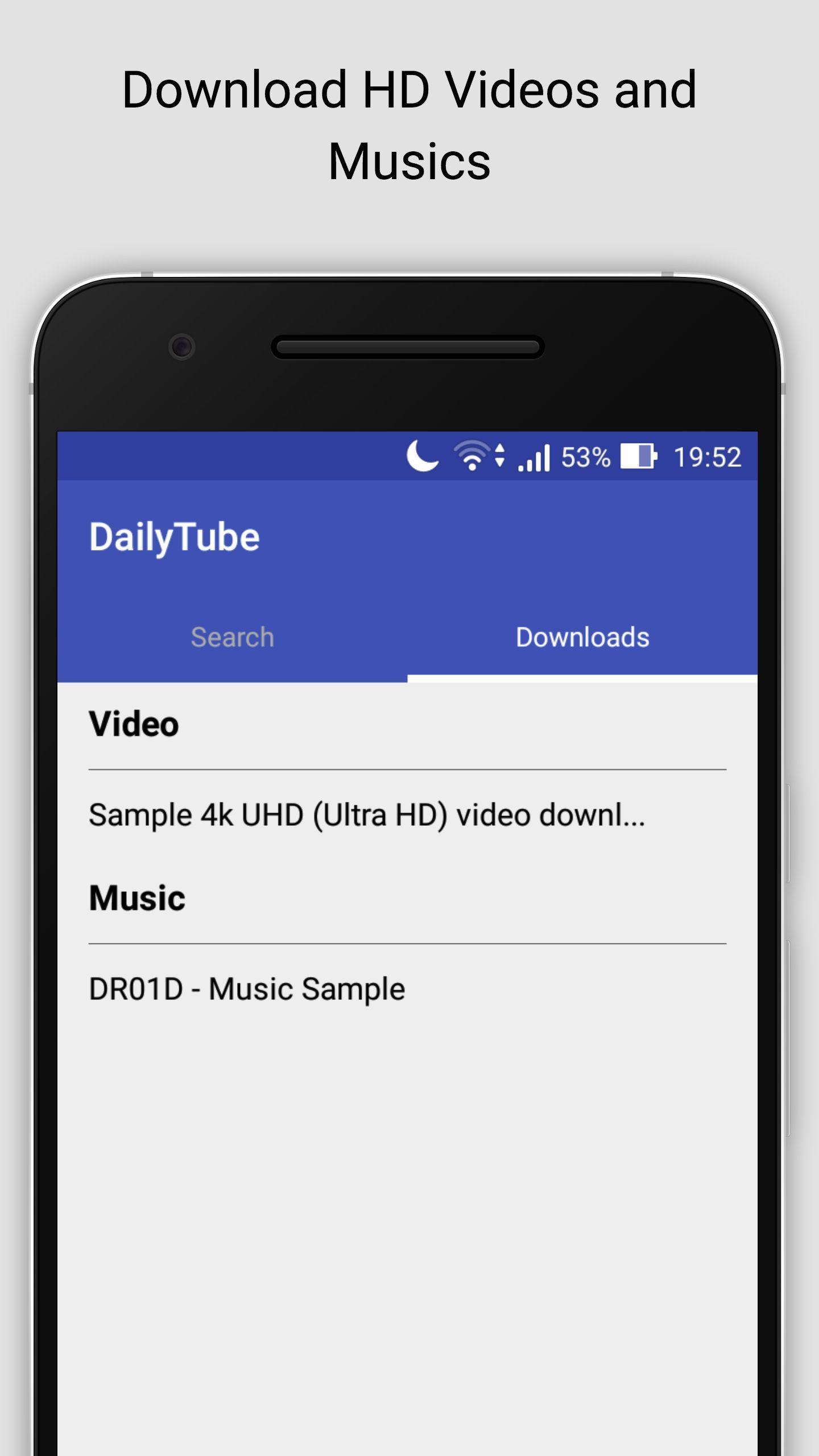 Daily Tube HD Video Downloader for Android - APK Download