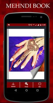Mehndi design book (offline) screenshot 2