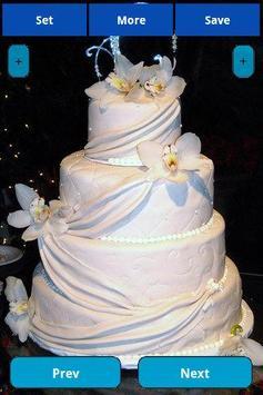 Wedding Cakes Wallpapers screenshot 4