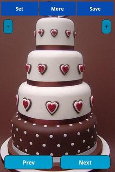 Wedding Cakes Wallpapers screenshot 1
