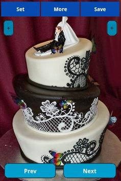Wedding Cakes Wallpapers screenshot 2