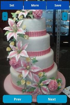 Wedding Cakes Wallpapers screenshot 3