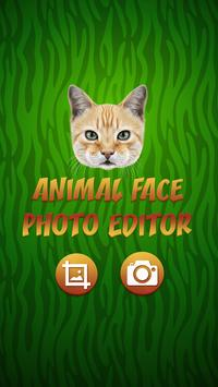 Animal Face Photo Editor poster