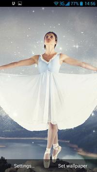 Ballerina Live Wallpaper apk screenshot