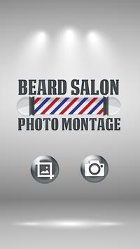 Beard Salon Photo Montage poster