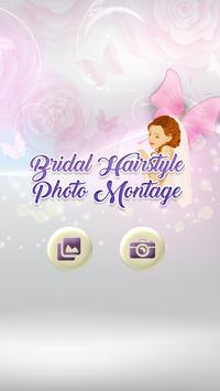 Bridal Hairstyle Photo Montage poster