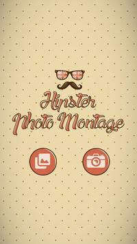 Hipster Photo Montage poster