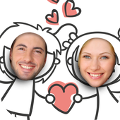Love Valentine Photo Editor icon