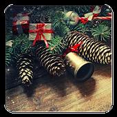 Vintage Christmas LWP icon