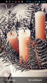 Vintage Christmas LWP apk screenshot