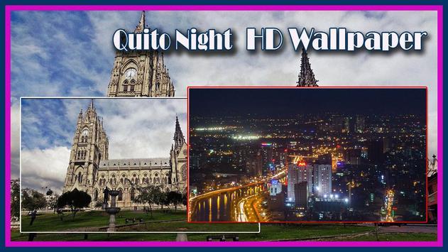 Quito Night HD Wallpaper poster