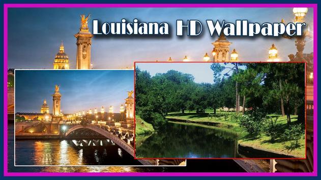 USA Louisiana HD Wallpaper poster