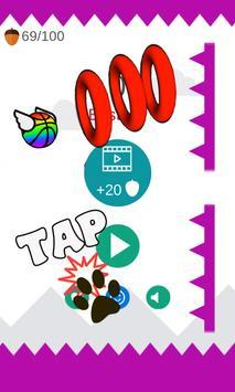 Flappy Dunk: Balls poster