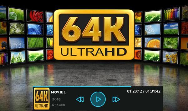 64k Ultra Hd Video Player & 64k Video UHD - 2018 screenshot 1