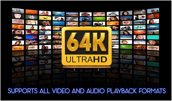 64k Ultra Hd Video Player & 64k Video UHD - 2018 screenshot 2