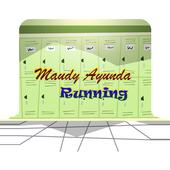 Maudy Ayunda Running icon