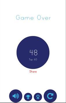 Blue Bird - Avoid The Spikes apk screenshot