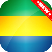 Gabon Flag Wallpaper icon