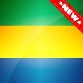 Gabon Flag Wallpaper icon