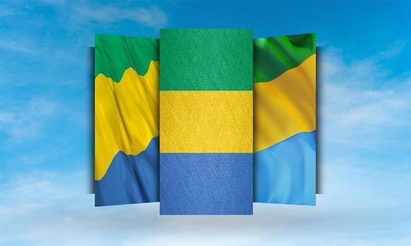 Gabon Flag Wallpaper screenshot 1