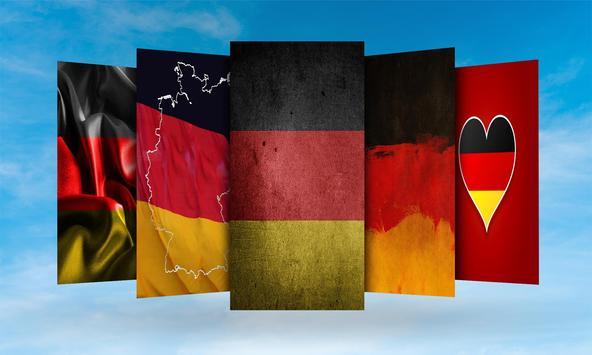 Germany Flag Wallpaper poster